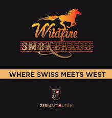 Wildfire Smokehause at Zermatt Utah