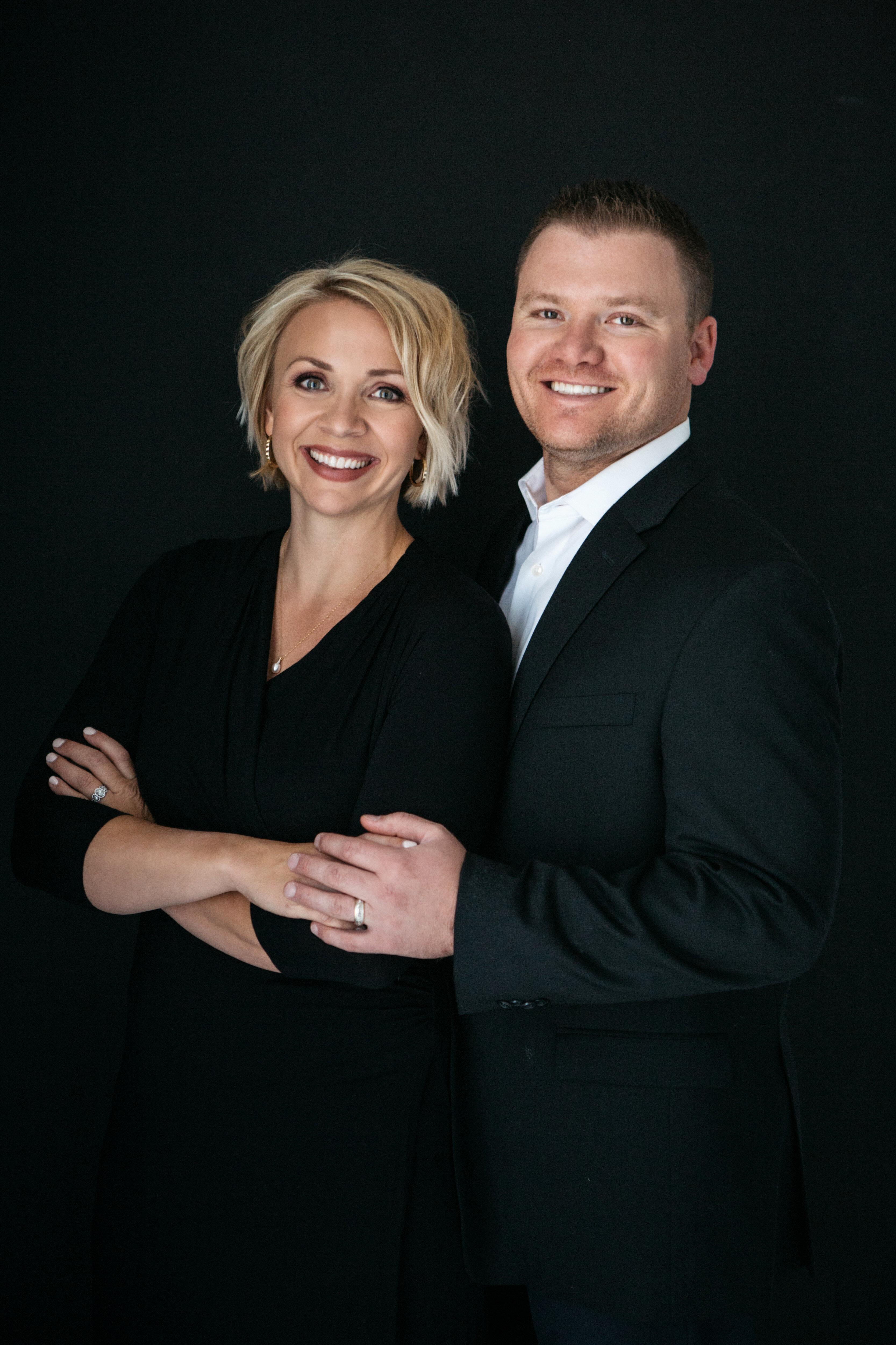 Derrik & Holly Carlson with Keller Williams